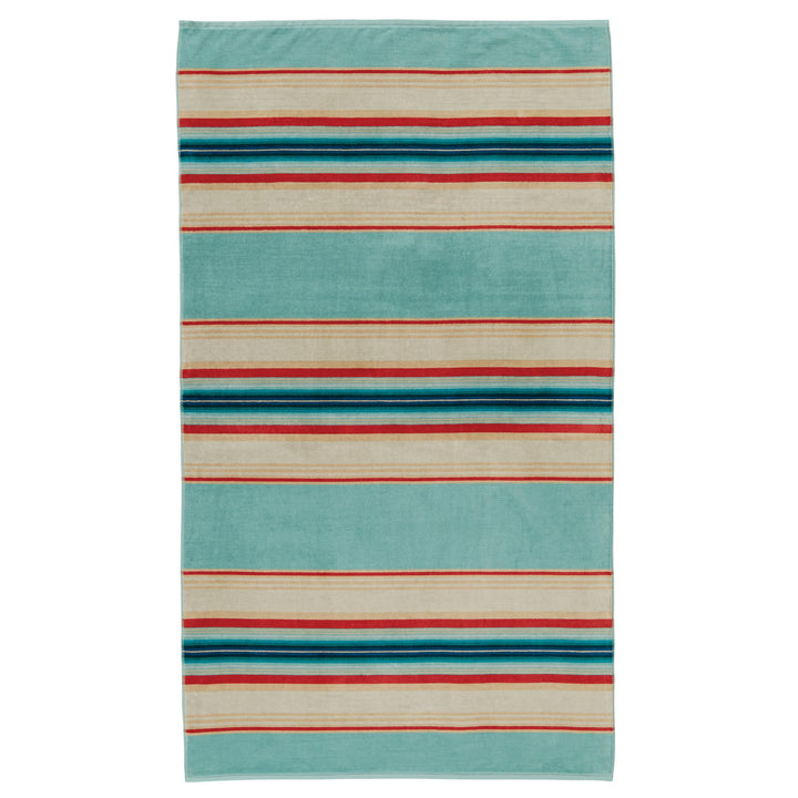 Pendleton Beach Towel - Serape Aqua - The Great Divide