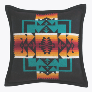 Pendleton Chief Joseph Pillow - Black - The Great Divide