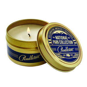 National Park Travel Candles - Glacier