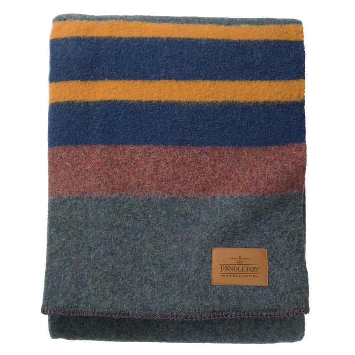 Pendleton Camp Blanket - Lake - The Great Divide - Free Delivery