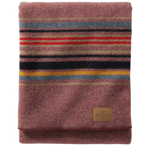 Pendleton Camp Blanket - Red Mountain - The Great Divide