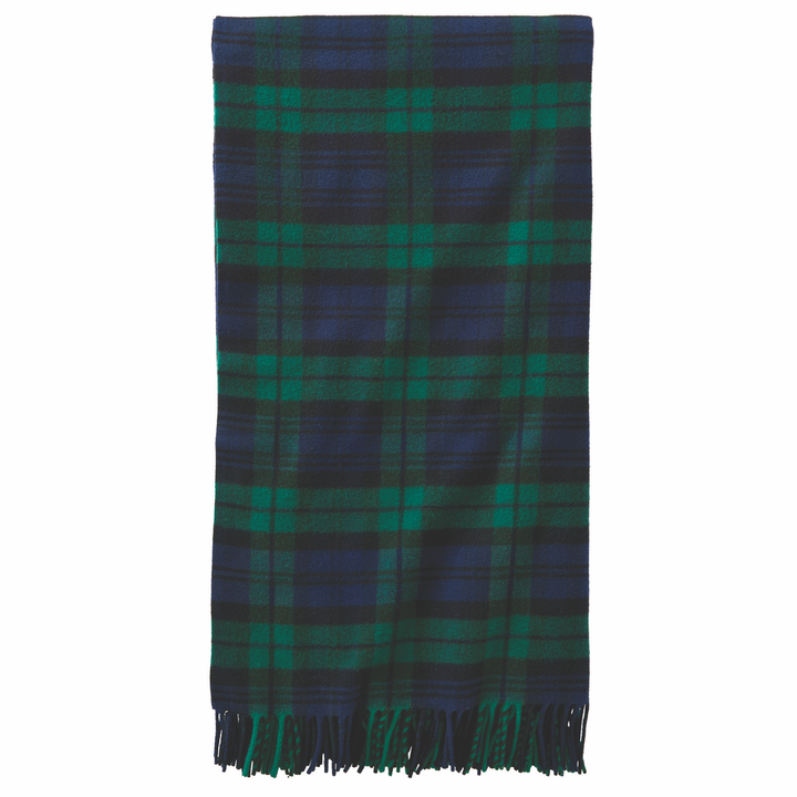 Pendleton 5th Avenue Black Watch Throw - The Great Divide