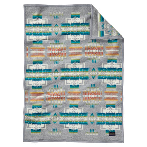Pendleton Chief Joseph Muchacho Blanket - Grey - The Great Divid