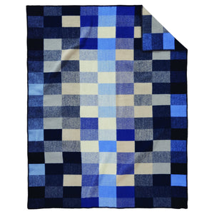 Jacquard Throw - Boro Patchwork