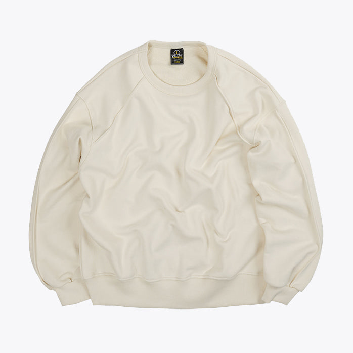 Piping Sweatshirt 002 - Ivory
