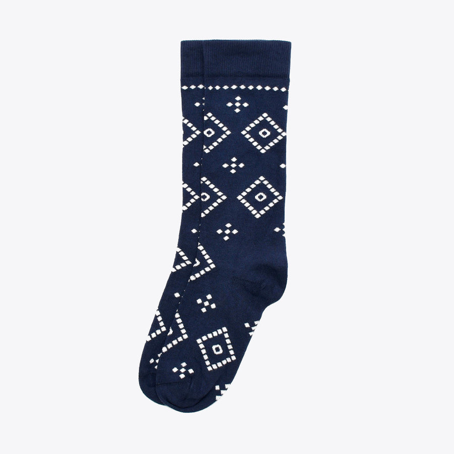 Bandana Sock - Navy