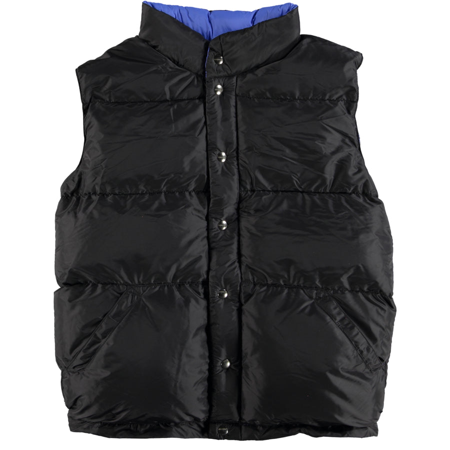 Italian Vest - Black / Royal