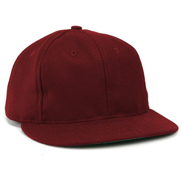 Ebbets Field Flannels Unlettered Ballcap - Burgundy - The Great Divide