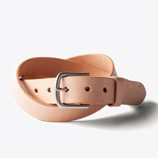 Classic Belt - Natural / Steel