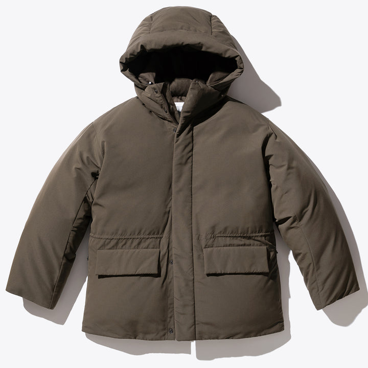 Cold Weather Down Parka - Brown