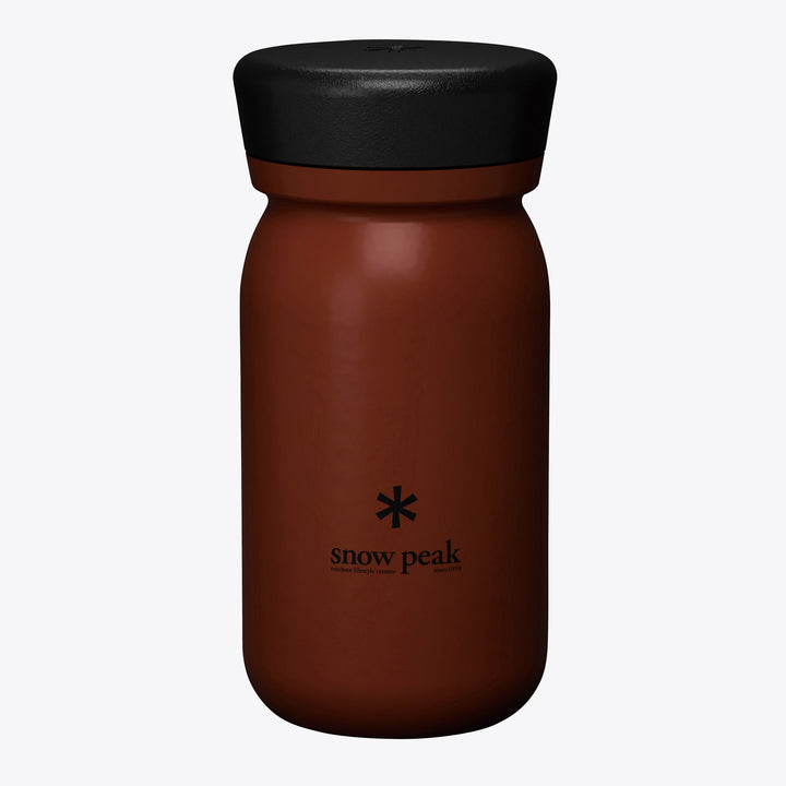 Stainless Vacuum Bottle MILK 350 RedClay