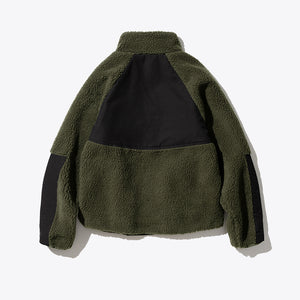 Heavy Fleece Jacket - Khaki