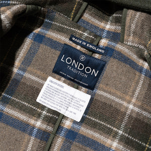 London Tradition Duffle Coat - Khaki