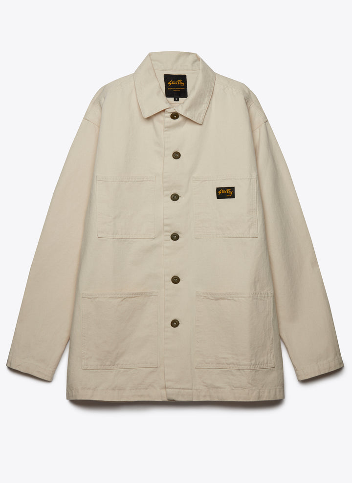Work Jacket - Natural Drill