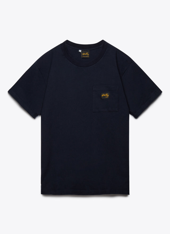 Patch Pocket Tee - Centuary Navy