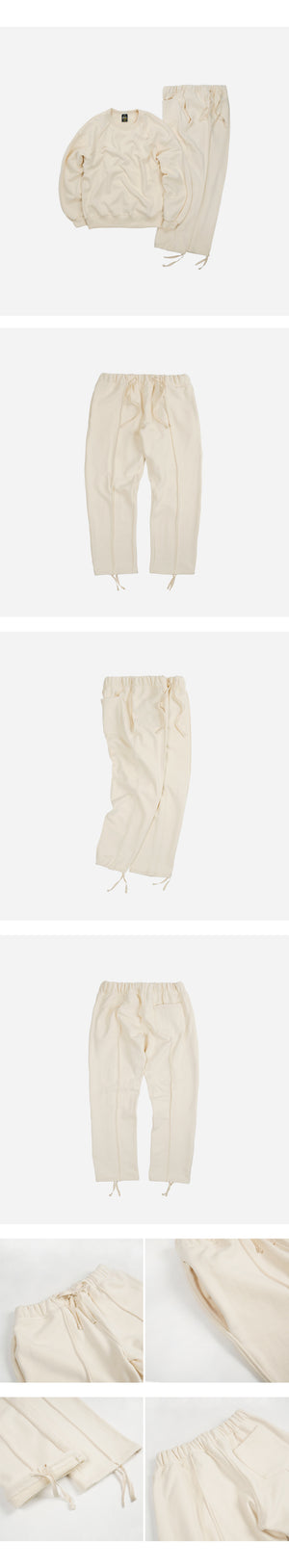 Piping Sweatpants - Ivory