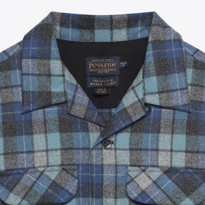 Board Shirt - Blue Original Surf Plaid
