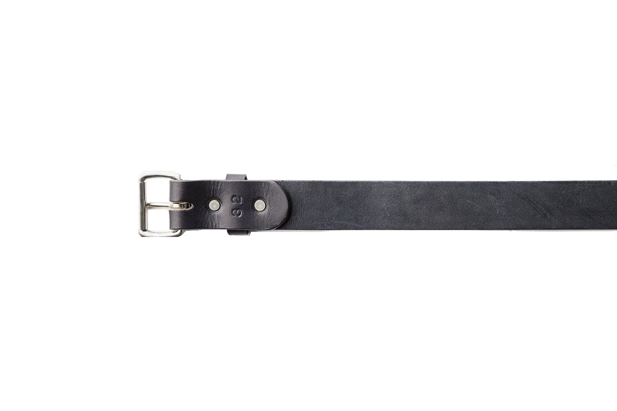 Standard Belt - Black / Stainless