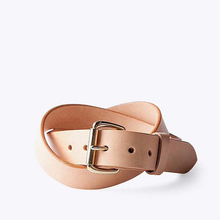 Standard Belt - Natural / Brass