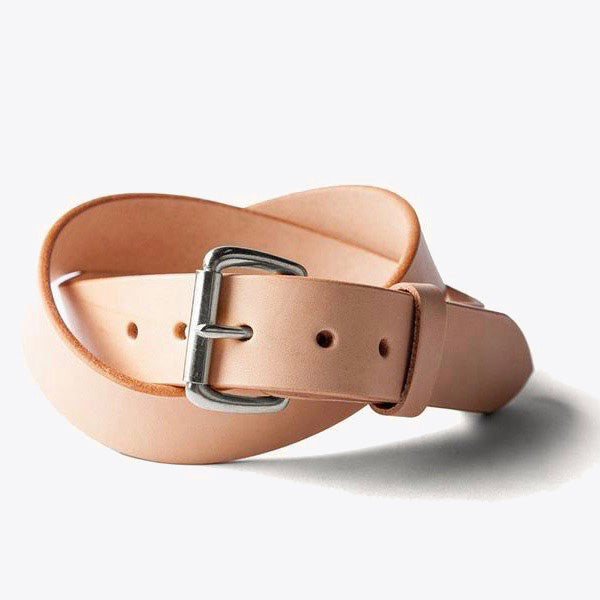 Standard Belt - Natural / Steel
