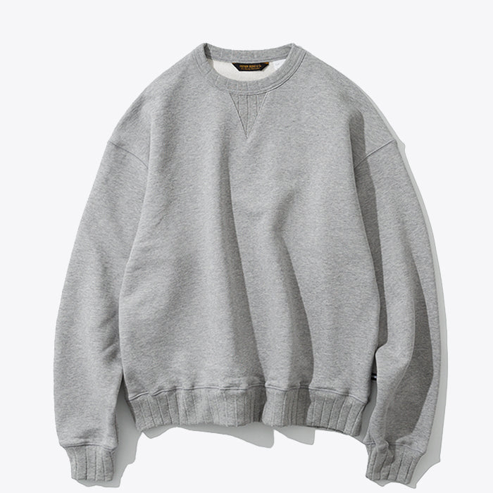 Stripe Rib Sweatshirt - Grey