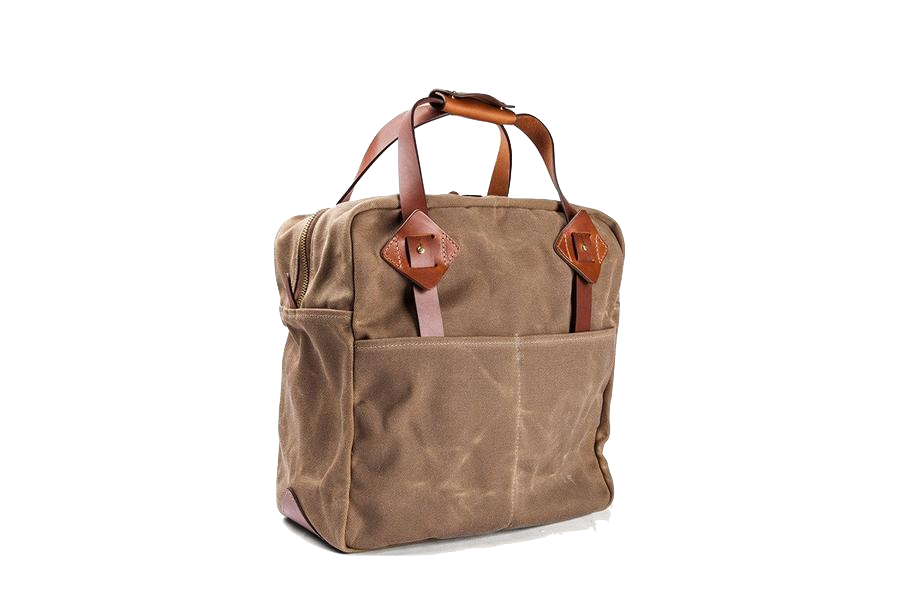 Everyday Tote - Waxed Field Tan