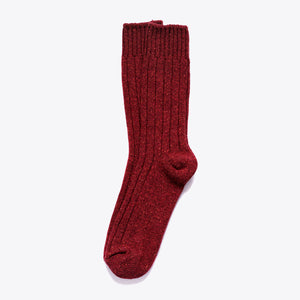 Boot Sock - Burgundy