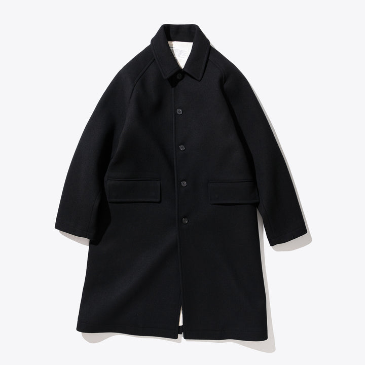 Wool Single Coat - Black