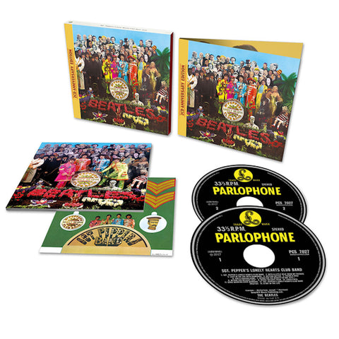 Sgt. Pepper's Lonely Hearts Club Band 2CD Deluxe (Anniversary Edition)
