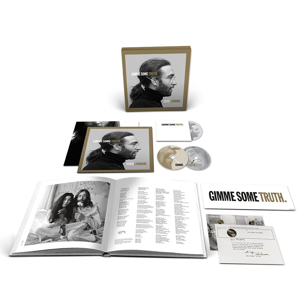 John Lennon - GIMME SOME TRUTH. 2CD / Blu-Ray – uDiscover Music