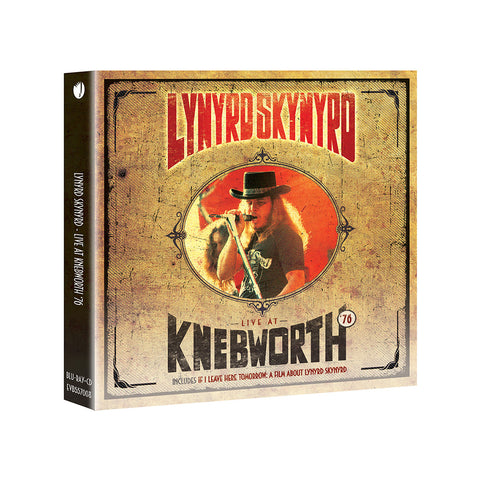 Live At Knebworth '76 CD/Blu-Ray