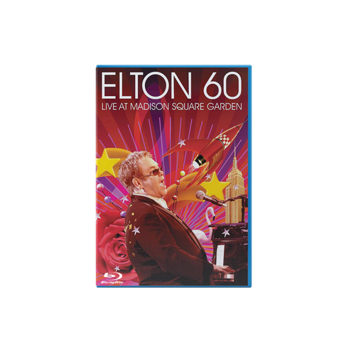 Elton 60 - Live At Madison Square Garden Blu Ray