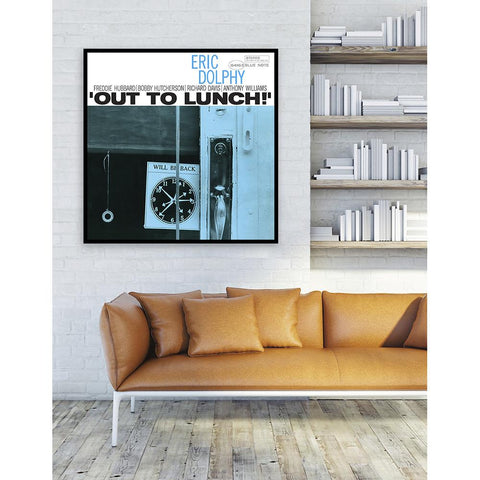 Out To Lunch Framed Canvas Art