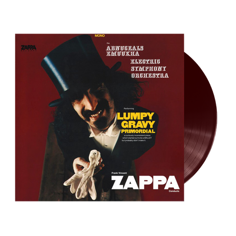 Frank Vincent Zappa Conducts The Abnuceals Emuukha Electric Symphony Orchestra ‎– Lumpy Gravy Primordial Limited Edition LP