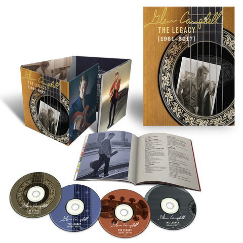 The Legacy (1961-2017) 4CD + Litho Bundle