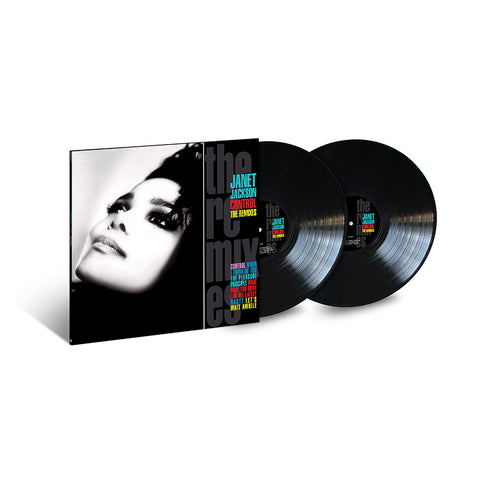 Control: The Remixes 2LP (Black)