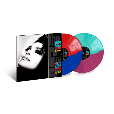 Control: The Remixes Limited Edition 2LP