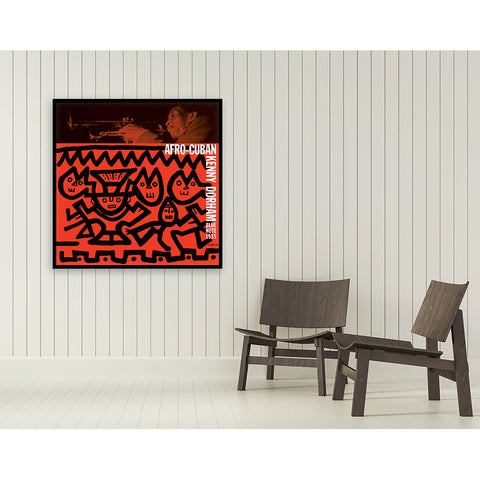 Afro-Cuban Framed Canvas Art