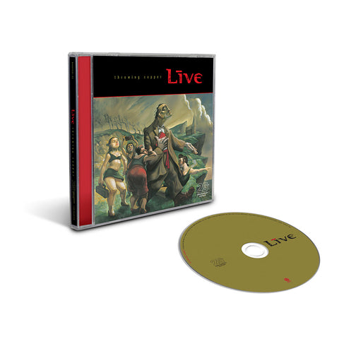 Throwing Copper (25th Anniversary) CD