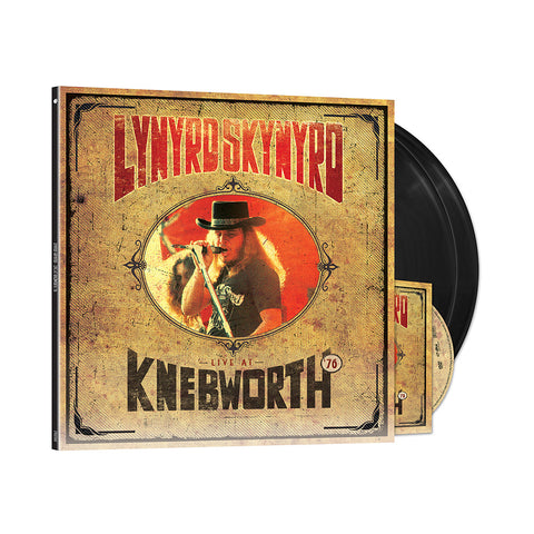 Live At Knebworth '76 2LP/DVD