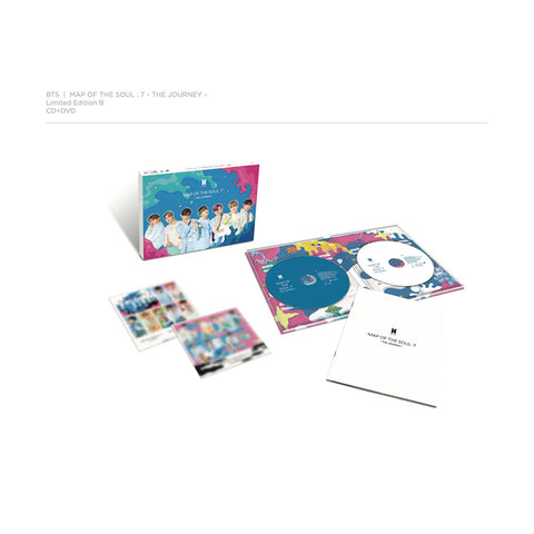 MAP OF THE SOUL : 7 ~ THE JOURNEY ~ Limited Edition B (CD + DVD)