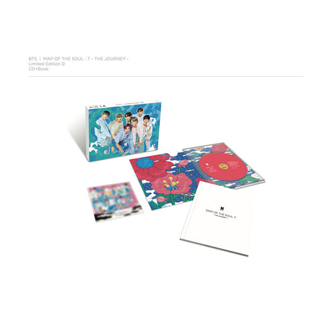 MAP OF THE SOUL : 7 ~ THE JOURNEY ~ Limited Edition D (CD + Book)