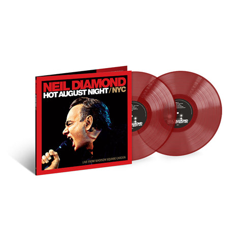 Hot August Night/NYC Live From Madison Square Garden Limited Edition 2LP
