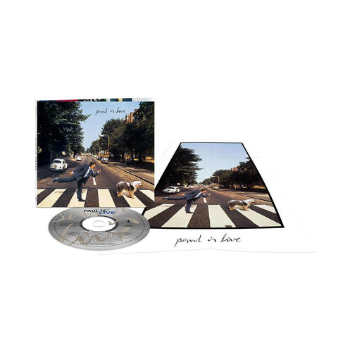 Paul Is Live CD