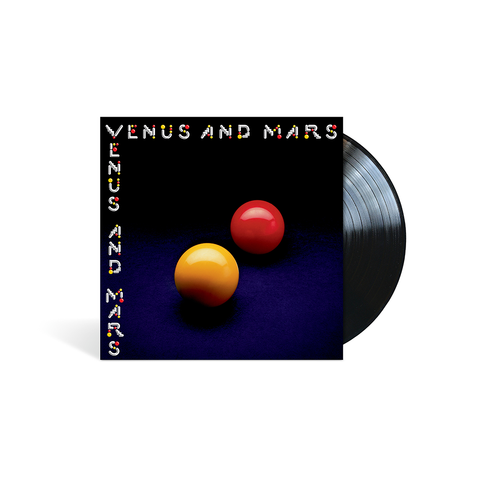 Venus and Mars - Black LP