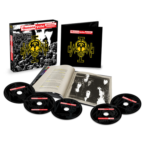 Operation: Mindcrime 4CD/DVD
