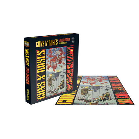 Appetite For Destruction Robot Puzzle