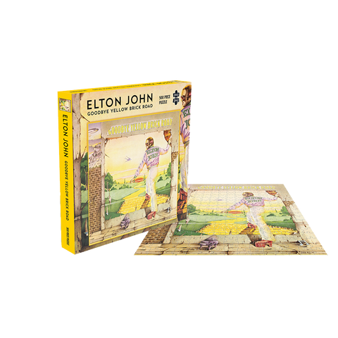 Goodbye Yellow Brick Road 500-Piece Jigsaw Puzzle