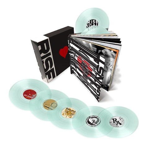 Rise Against Career Vinyl Box Set (Clear Vinyl)
