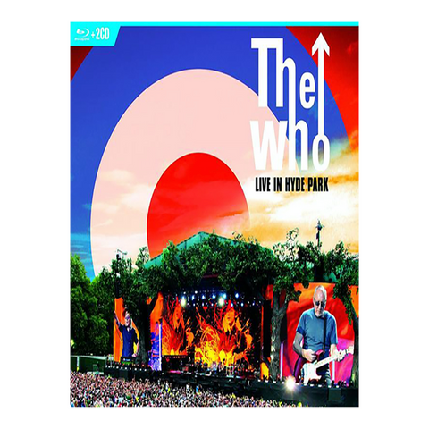 Live In Hyde Park 2CD/Blu-Ray Combo